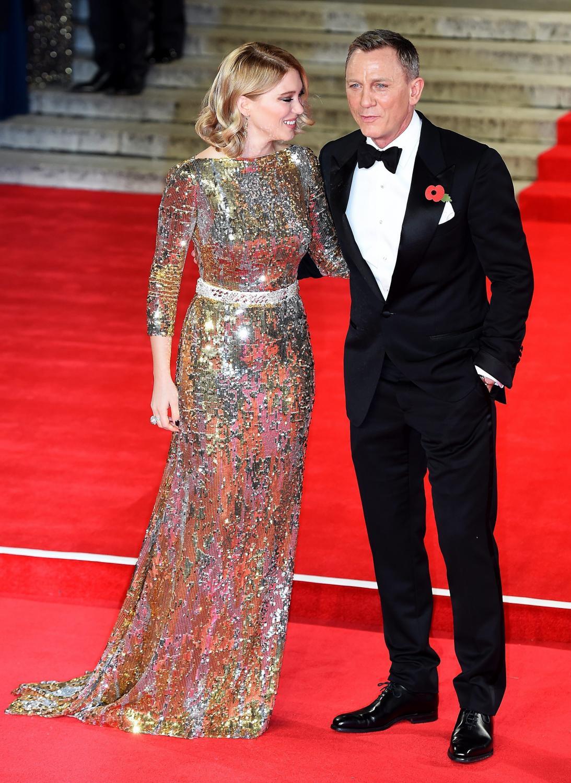 """Daniel Craig i Lea Seydoux na premierze """"Spectre"""" w Londynie"""