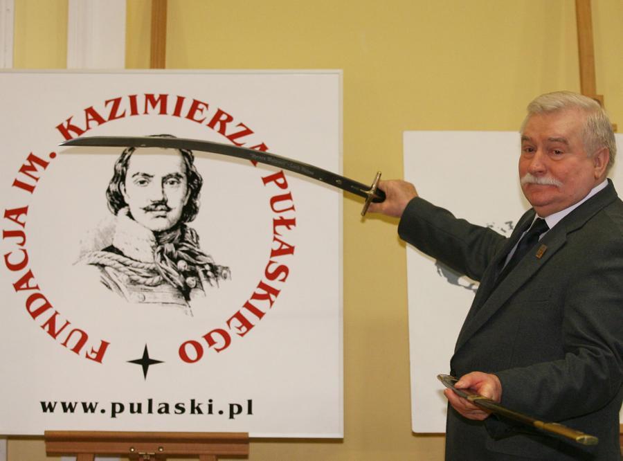 Lech Wałęsa został Rycerzem Wolności