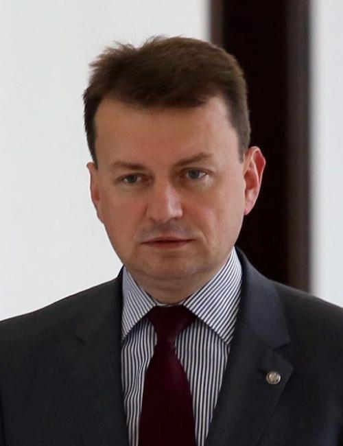 Mariusz Błaszczak - minister spraw wewnętrznych i administracji