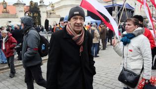 Antoni Krauze na Krakowskim Przedmieściu