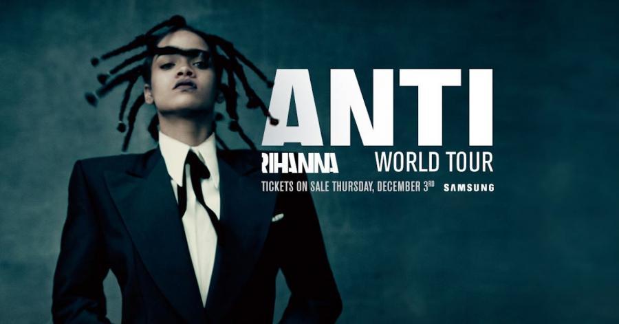 Rihanna wystąpi na Stadionie Narodowym