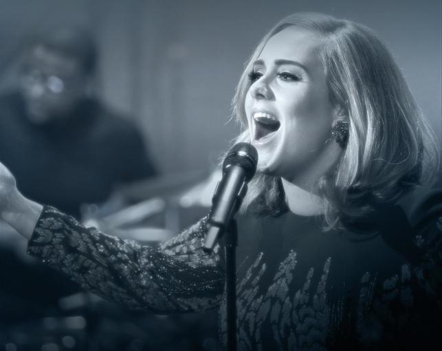 Adele idzie jak burza...