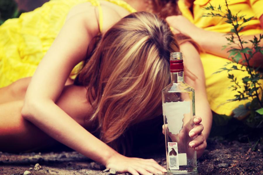 Pijana nastolatka