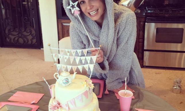 Słodko, słodko... Tak Britney Spears świętowała urodziny [ZDJĘCIA]