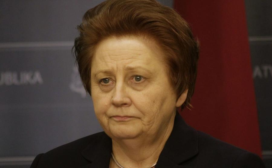 Była już premier Łotwy Laimdota Straujum