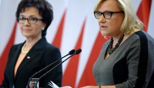 Beata Kempa i Elżbieta Witek