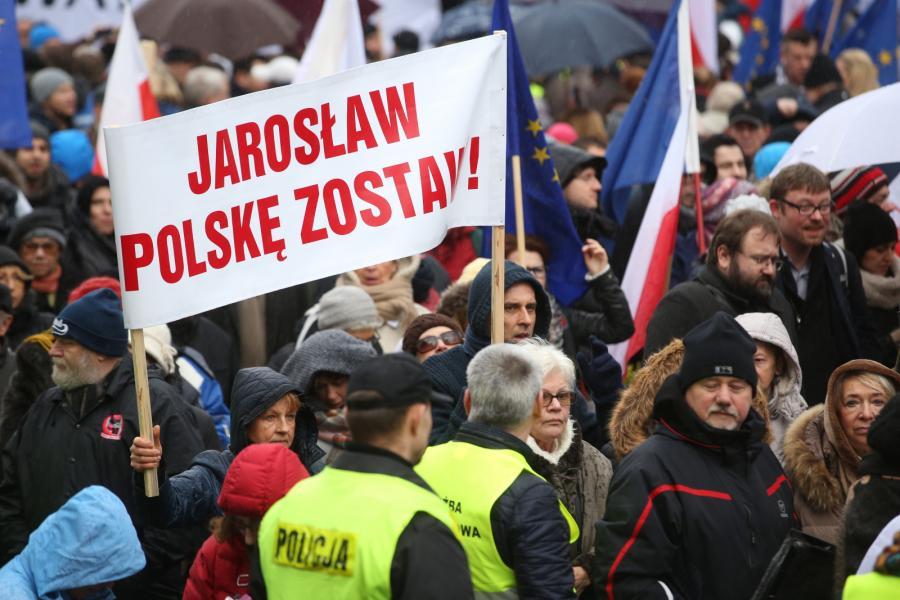 Protest przed TK