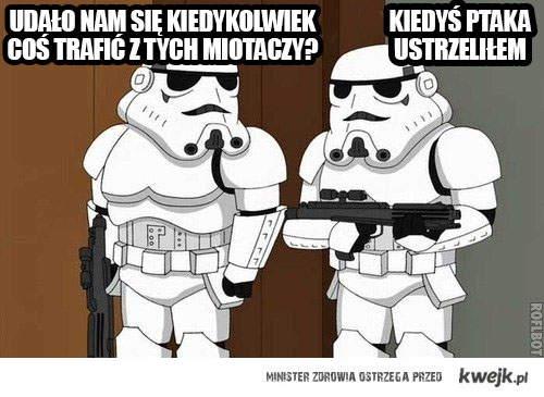 Gwiezdne wojny - mem