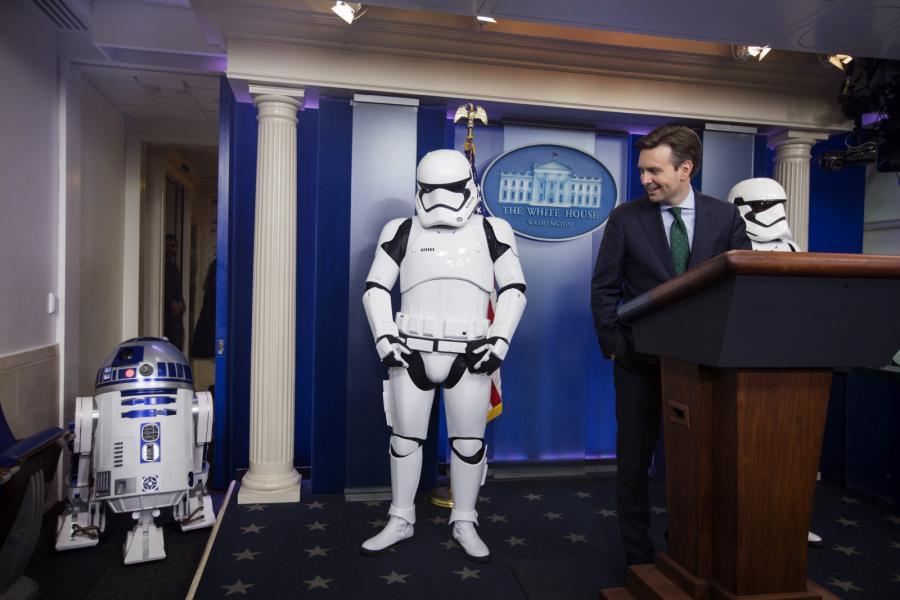 R2-D2 zawitał do Białego Domu