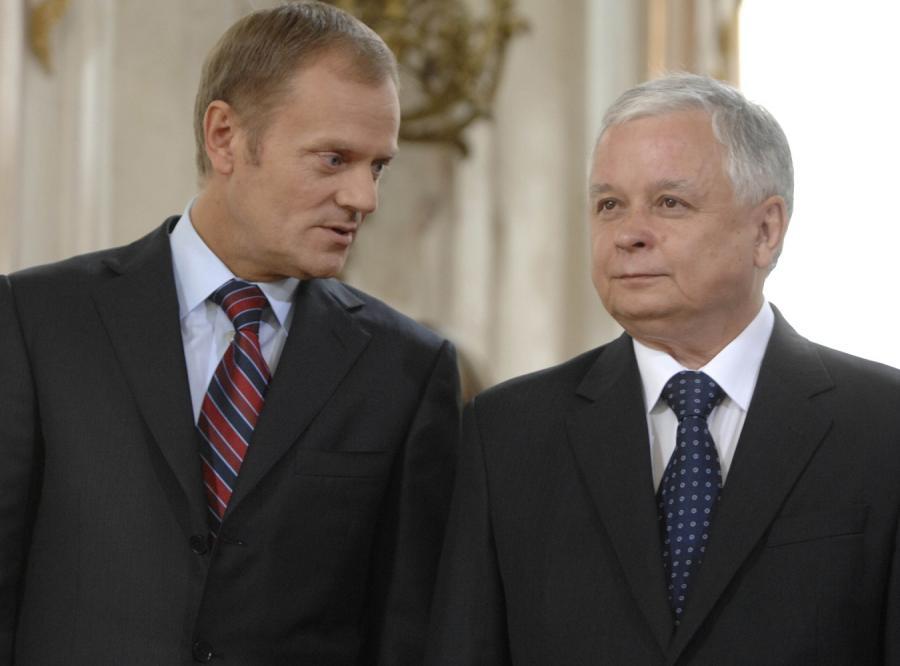 Kaczyński chce rozmawiać z Tuskiem o Rosji