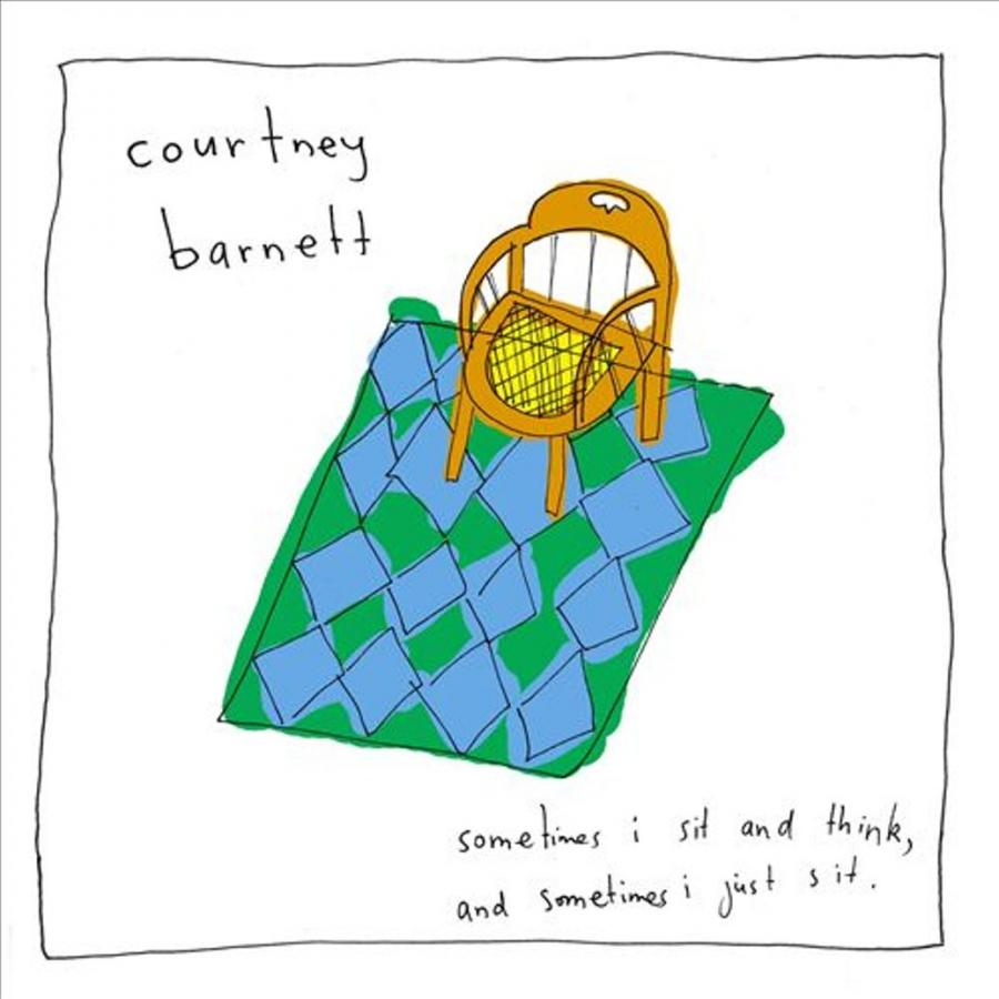 "4. Courtney Barnett – ""Sometimes I Sit and Think – and Sometimes I Just Sit"""