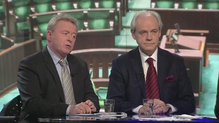 Janusz Wojciechowski i Adam Szejnfeld