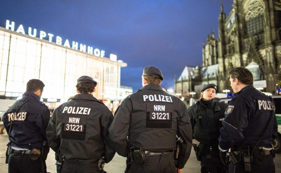 Niemiecka policja w Kolonii