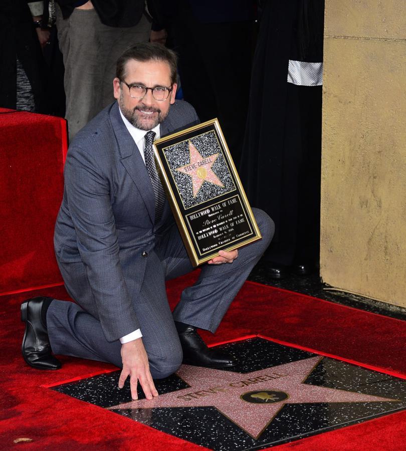 Steve Carell ma gwiazdę w hollywoodzkiej Alei Sław
