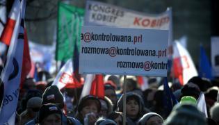 """Manifestacja zorganizowana przez Komitet Obrony Demokracji pod hasłem """"W obronie Twojej wolności"""""""