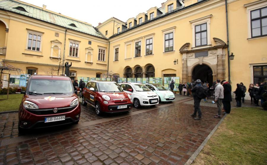Fiat przekazał samochody do obsługi Światowych Dni Młodzieży w Krakowie