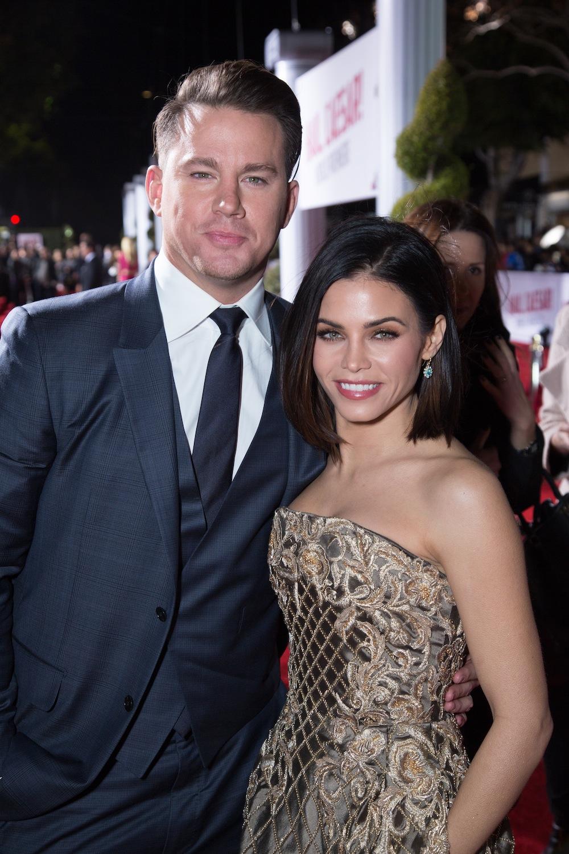 """Channing Tatum z żonąJenną Dewan (i partnerką z filmu """"Step Up"""")"""