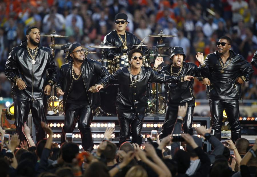Bruno Mars na Super Bowl 2016