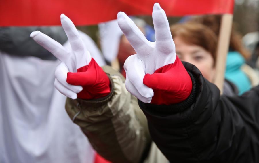 Pikieta pod Sejmem