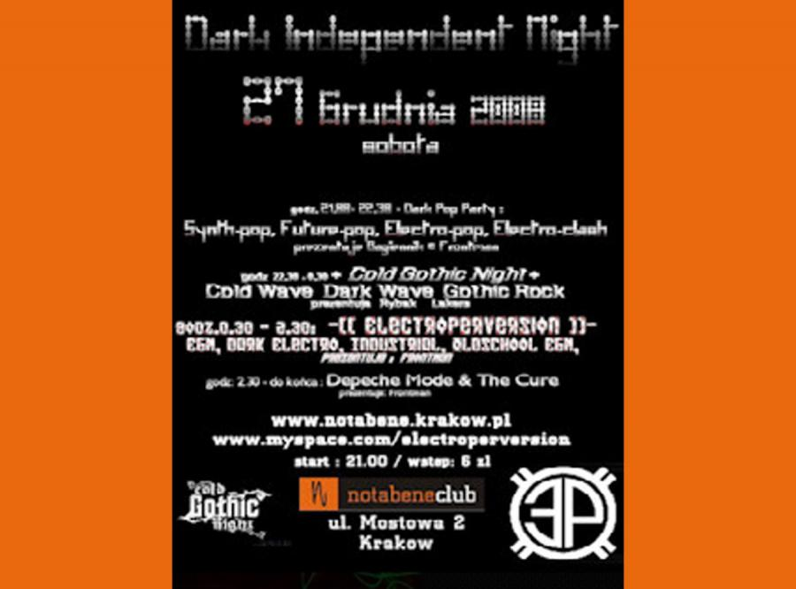 Dark Independent Night w Krakowie