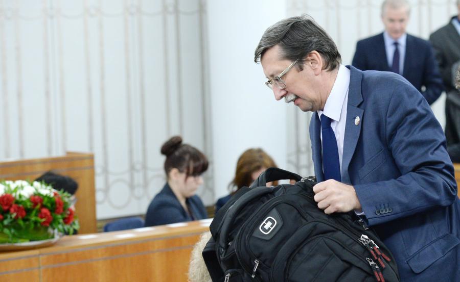 Prof. Jan Żaryn w Senacie