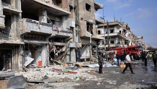 Zamachy bombowe w Syrii