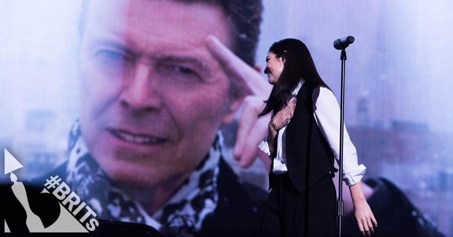 Lorde w hołdzie Davidowi Bowiemu
