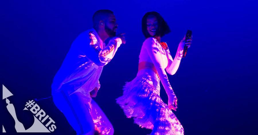 Najgorętszy duet Brit Awards 2016: Rihanna i Drake