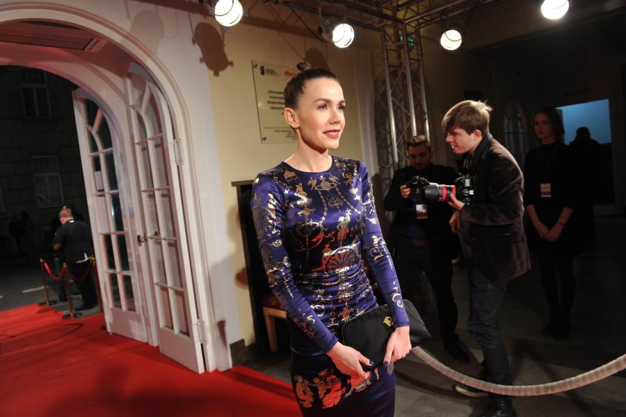 Olga Bołądź na gali Polskich Nagród Filmowych
