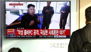 Kim Dzong Un pokazywany w południowokoreańskiej telewizji