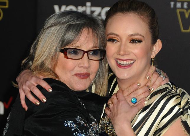 Billie Lourd i jej słynna matka Carrie Fisher