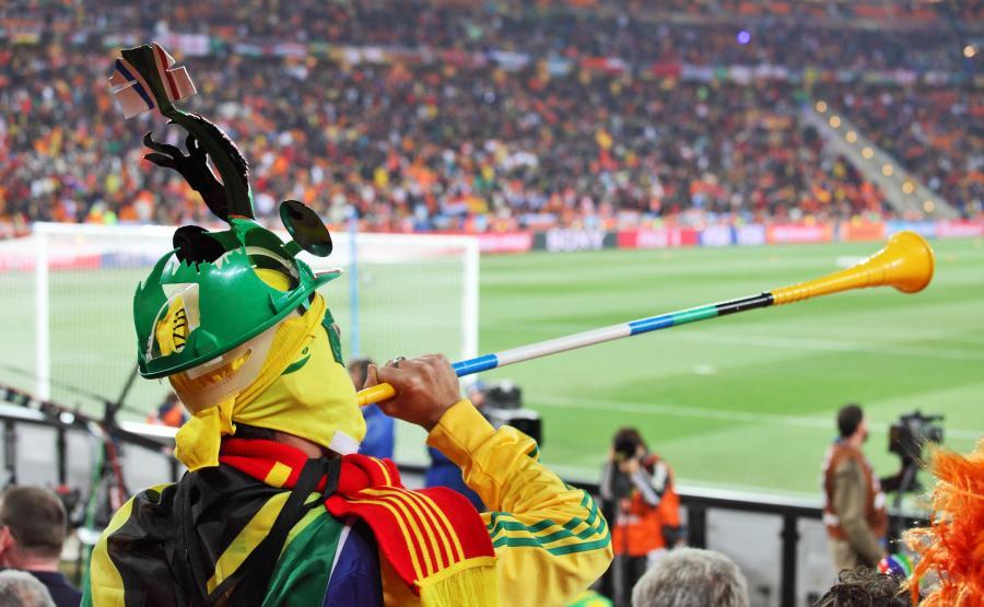 Mundial w RPA. Mecz na stadionie w Johannesburgu