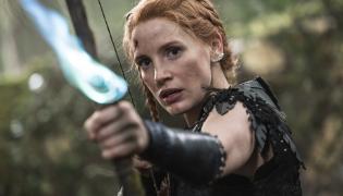 """Jessica Chastain w filmie """"Łowca i Królowa Lodu"""""""