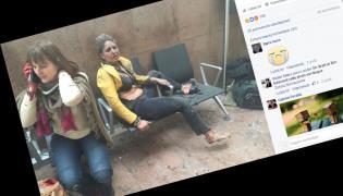 Fotografia, która stała się ikoną zamachów w Brukseli. Zrobiła ją gruzińska dziennikarka Ketevan Kardava