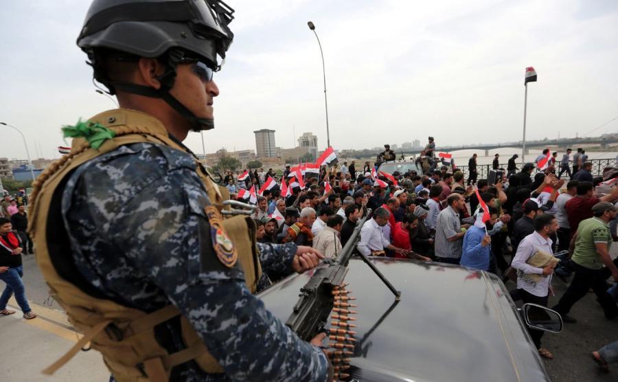 Iracki policjant