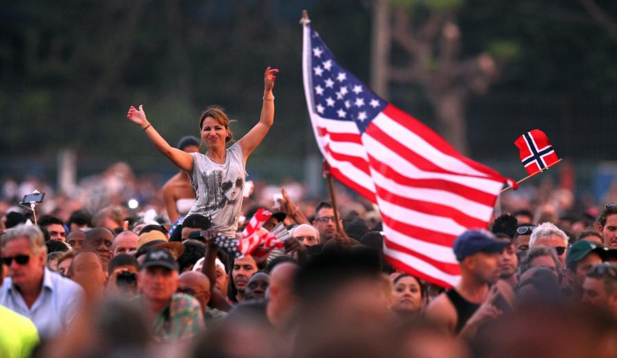 Wielotysięczne tłumy na historycznym koncercie Stonesów w Hawanie