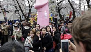 Festiwal stalowego penisa w Japonii 2016