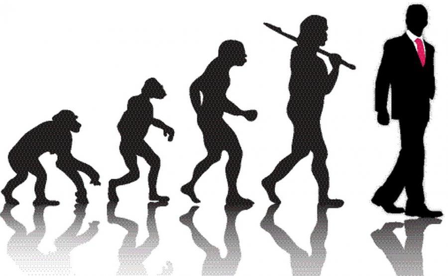 Ewolucja człowieka od małpy do człowieka rozumnego