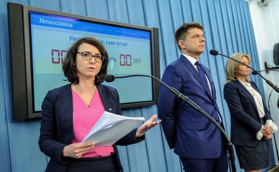 Kamila Gasiuk-Pihowicz, Ryszard Petru, Barbara Dolniak