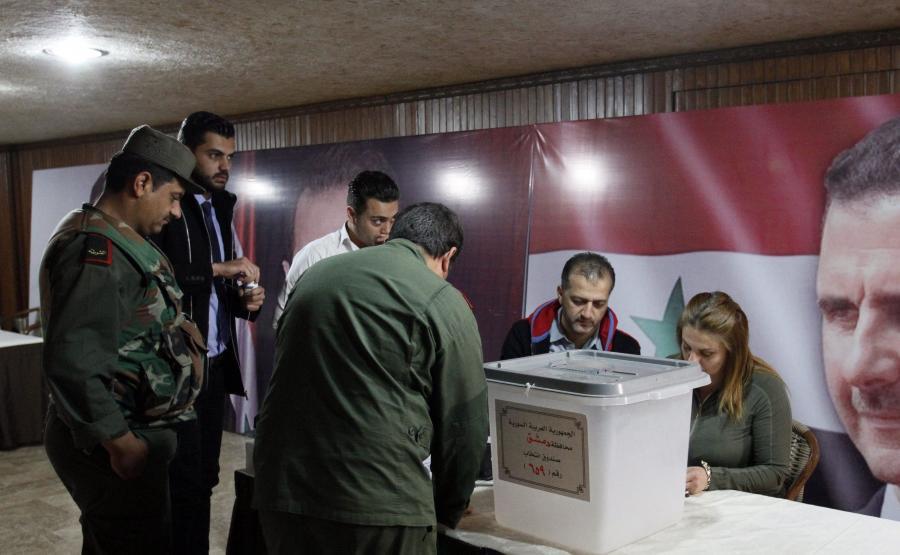 Wybory w Syrii