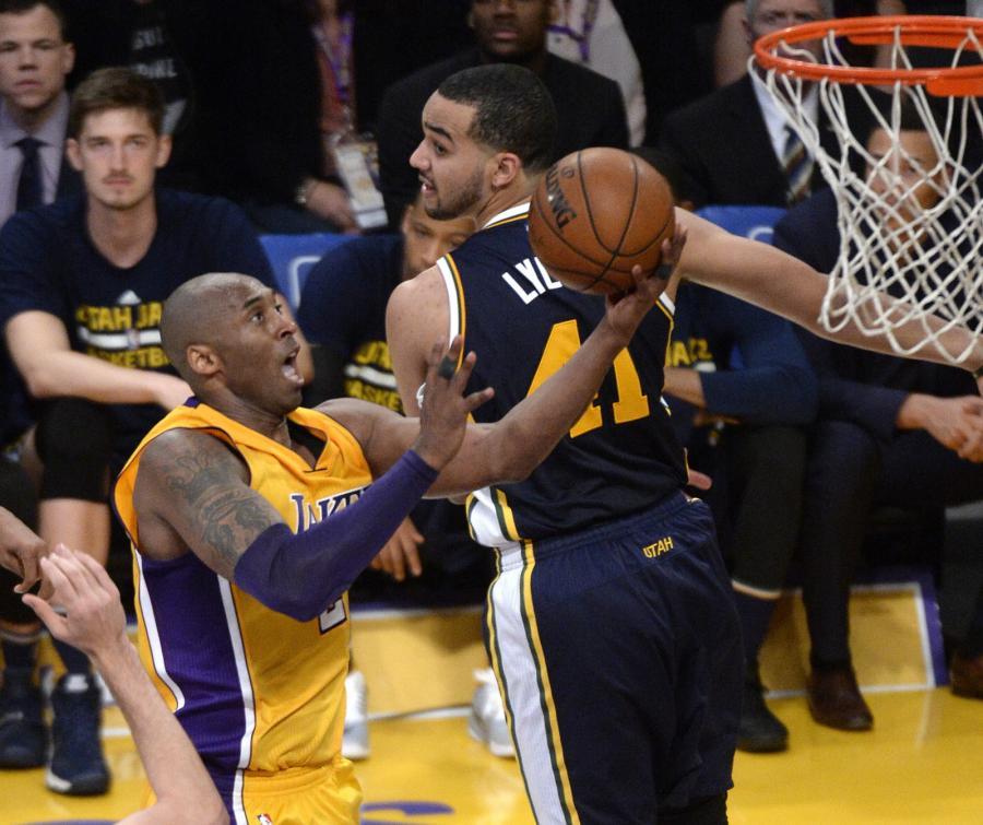 Kobe Bryant rozegrał ostatni mecz