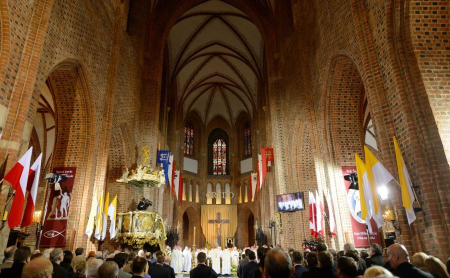 Uroczystości 1050-lecia chrztu Polski