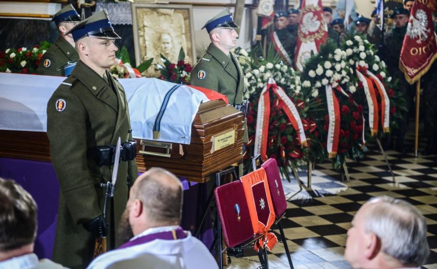 Msza żałobna w intencji płk. Zygmunta Szendzielarza \