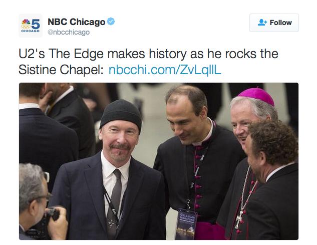The Edge z U2 jako pierwszy rockman dał koncert w watykańskiej Kaplicy Sykstyńskiej, #italodisco, Italo Disco, Euro Disco, 80's, 90's,