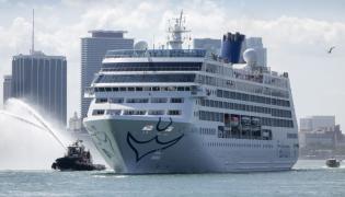 """Statek pasażerski """"Adonia"""""""