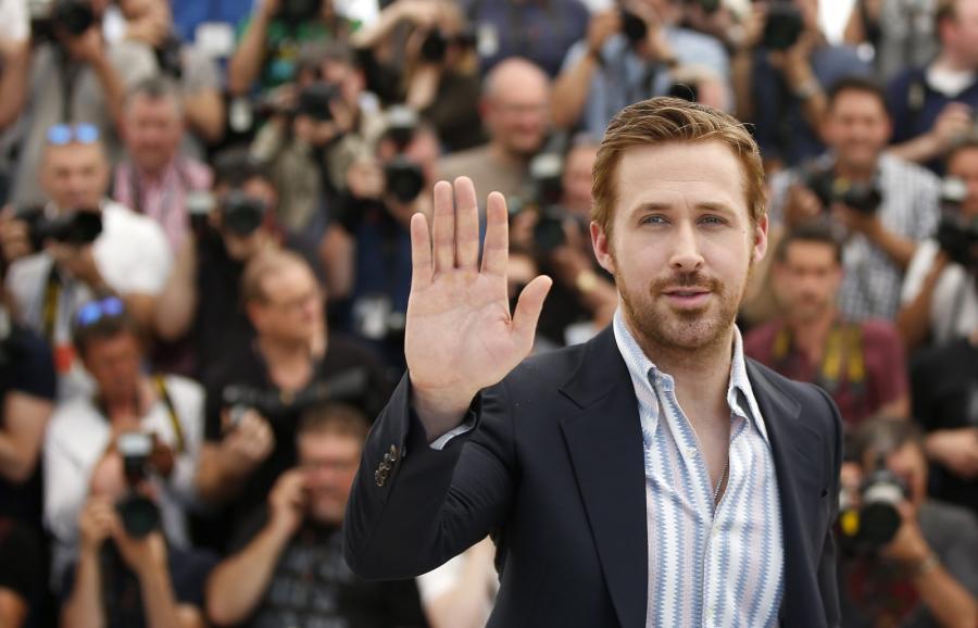 Równy gośćRyan Gosling w Cannes