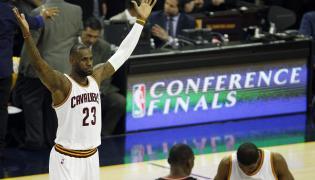 LeBron James poprowadził swoją drużynę do zwycięstwa