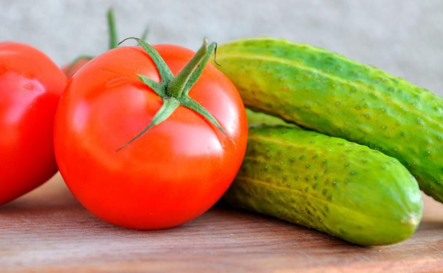 Pomidory i ogórki