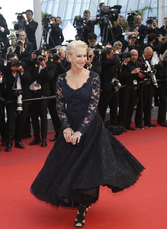 Helen Mirren w Cannes, czyli upadek królowej