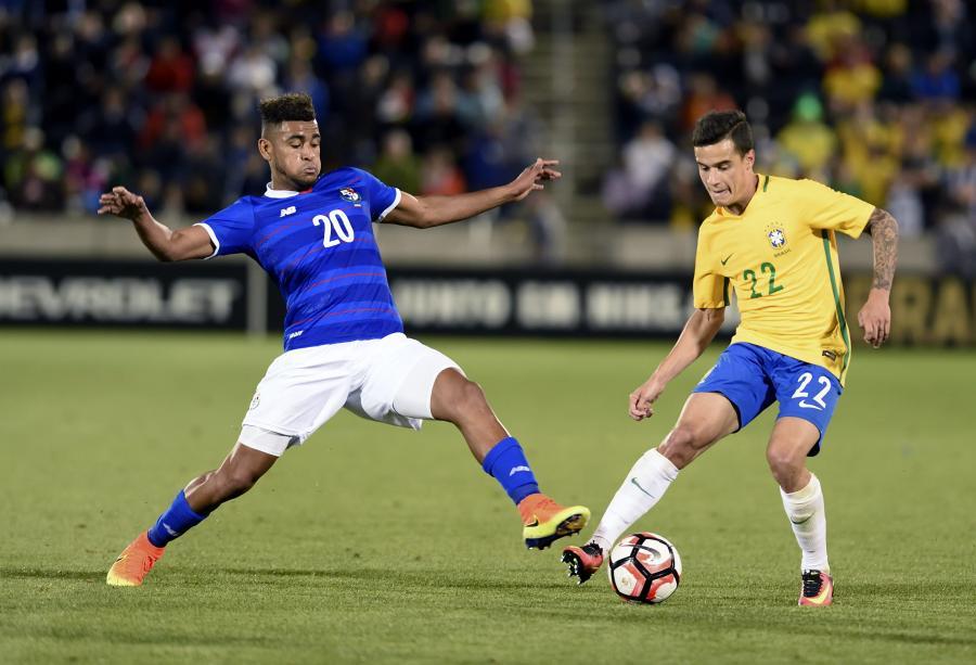 Philippe Coutinho i Anibal Godoy